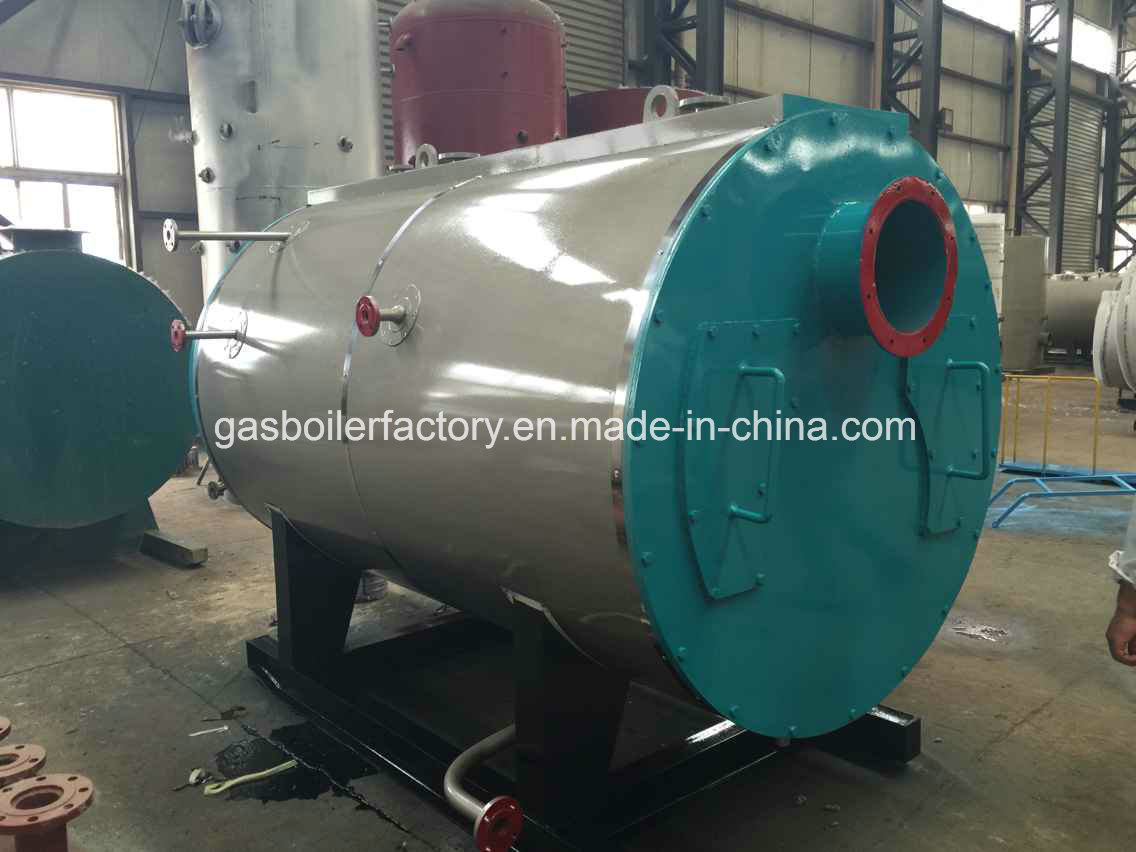 China Energy Saving Fire Tube 1ton -10ton 10bar Wns PLC Automatic ...