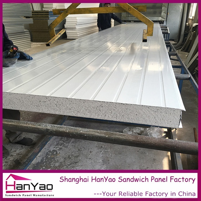 Color Steel EPS Sandwich Panel Plane Board for Wall and Roof