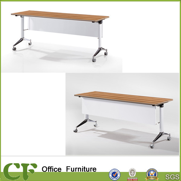 China Office Furniture Desk Training Table Design Foldable Table - Foldable training table