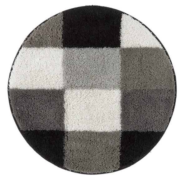 China Washable Bathroom Carpet Non Slip Bath Mat Rug Nylon Printed