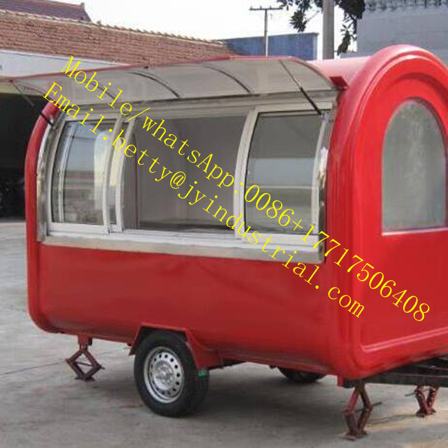 New Fashion Mini Electric Ice Cream Hot Dog, French Fries, Waffle, Sandwiches, Coffee Street Food Truck for Hot Sale pictures & photos
