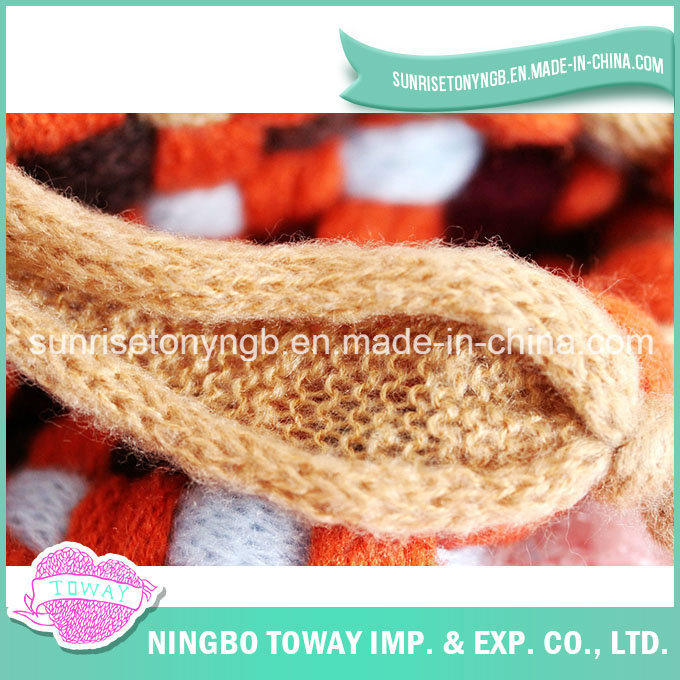 China Fishnet Yarn Vintage Lace Sweater Scarf Hat Knitting Patterns ...