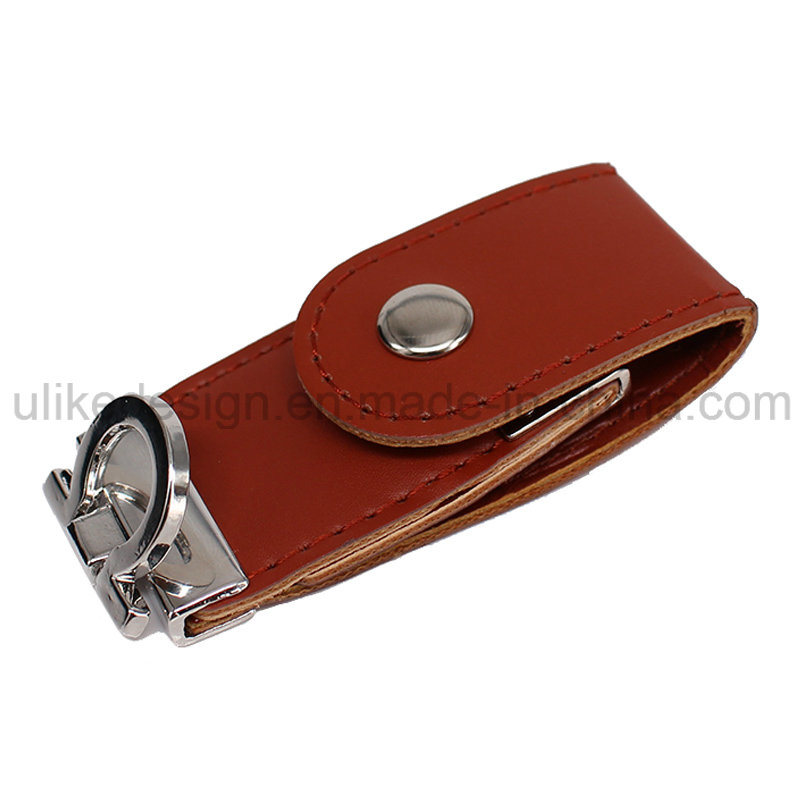 New Design Leather USB Flash Drive (UL-L003) pictures & photos