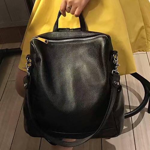 Factory Wholesale Ladies Leather Backpack Popular Shoulder Women Bag Emg5133 50b9644cd703