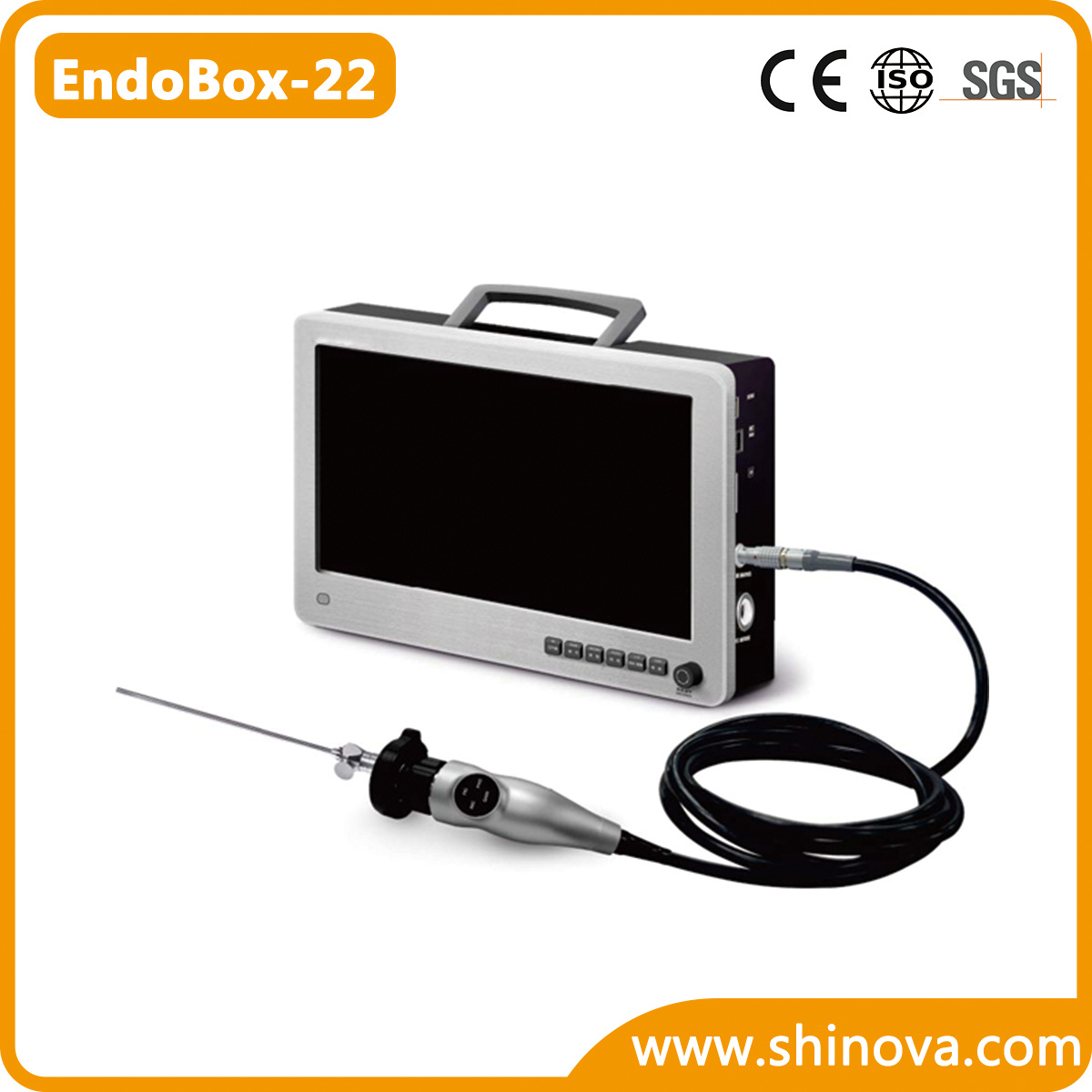 HD Veterinary Endoscope Camera System (EndoBox-22)