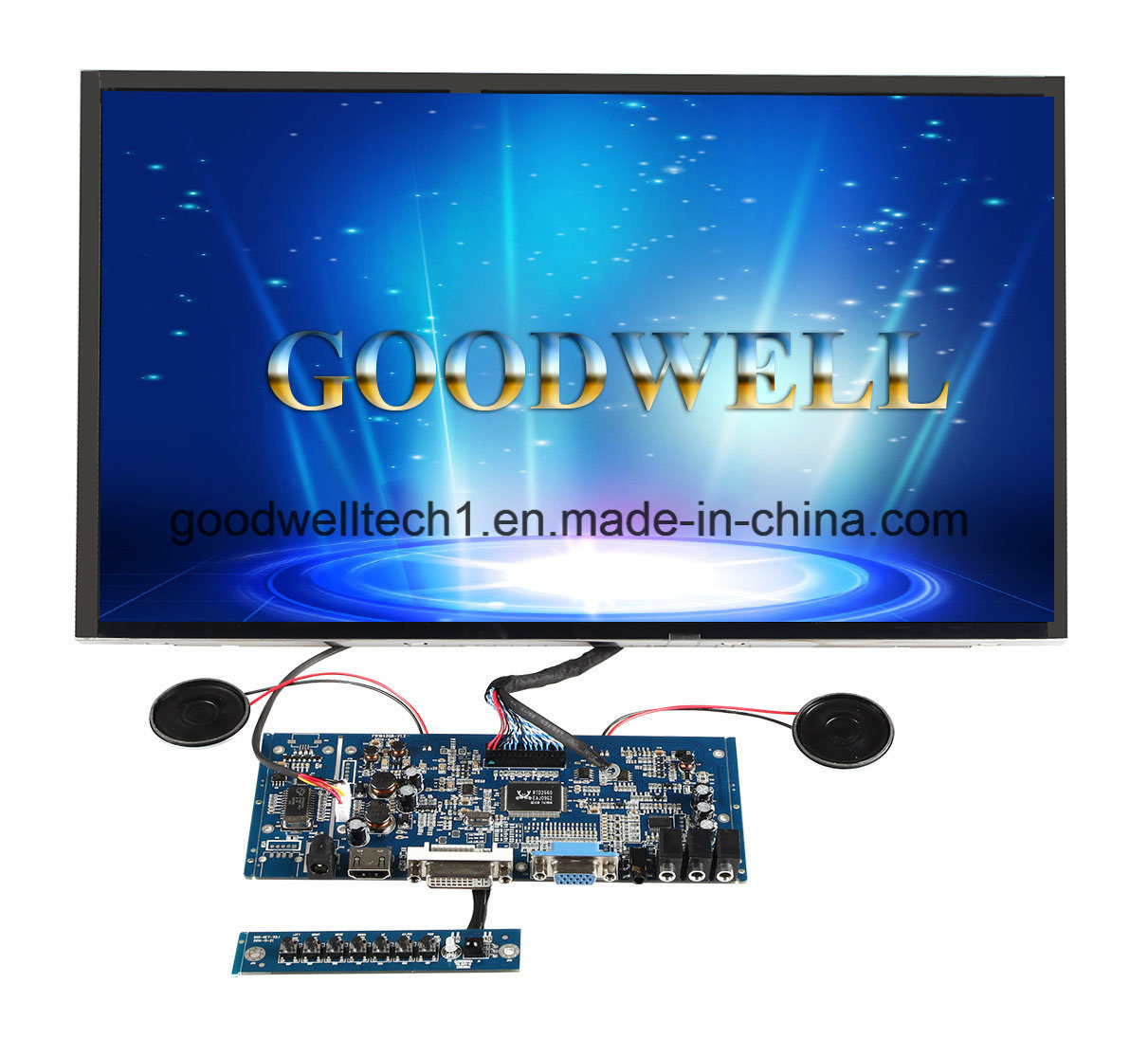 Touch 17.3 Inch TFT LCD pictures & photos