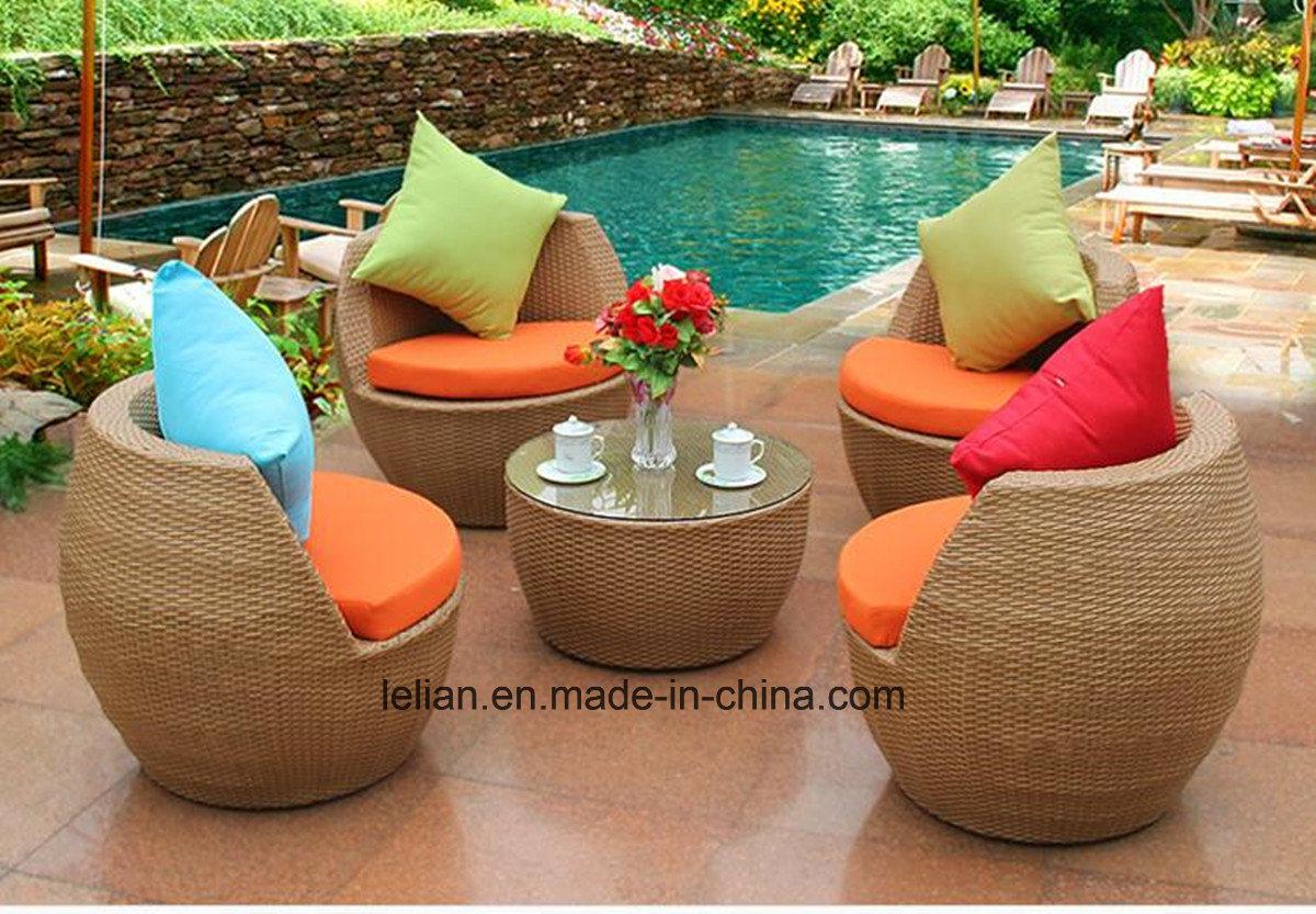 China Modern Outdoor Garden PE Rattan Sofa Sets Furniture (LL-RST003 ...