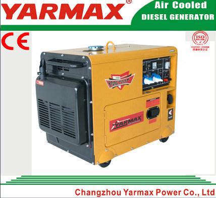 [Hot Item] Soundproof Generator Electric Generator 3kVA 3000W with Yarmax  Diesel Engine, Stock Price