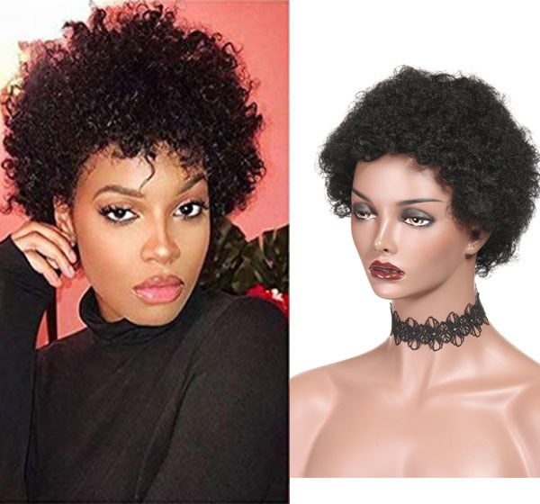 China Afro Wigs For Black Women Short Human Hair Wigs China Human Hair And Lace Wig Price