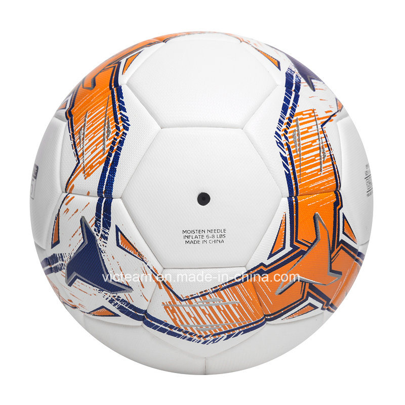 Standard Size 5 Orignal PU Leather Soccer Ball pictures & photos