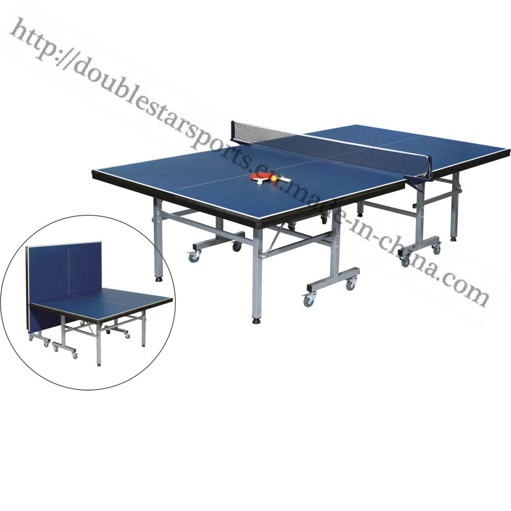 - China Foldable Movalbe Indoor Pingpong Table Tennis Table - China