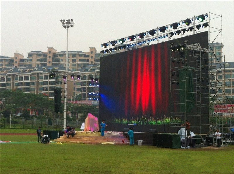 Indoor/Outdoor 500*500mm/500mm*1000mm P4.81 LED Display Screen for Rental Advertising Die Cast Aluminum Cabinet LED Video Wall P3.91/P5.95 pictures & photos