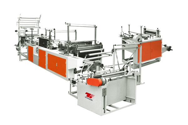 Rld-1000 Ribbon-Through Continuous-Rolled Garbage Bag Making Machine