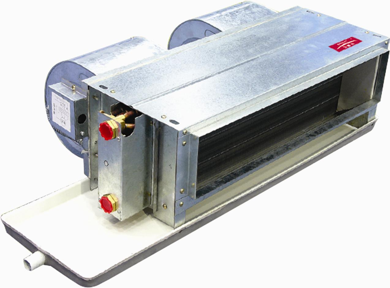 Ducted Chilled Water Horizontal Fan Coil Unit High ESP 100Pa