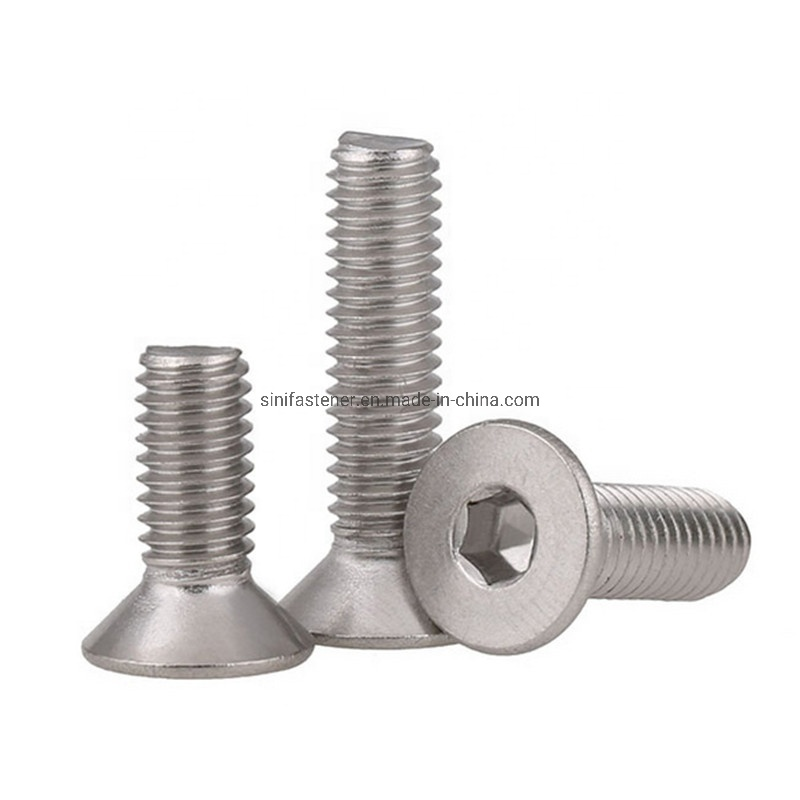 DIN 7991 and ISO 10642 Hex Socket Drive M10-1.5 X 20mm Metric Aspen Fasteners AISI 304 Stainless Steel 18-8 Flat Socket Cap Screws 15pcs