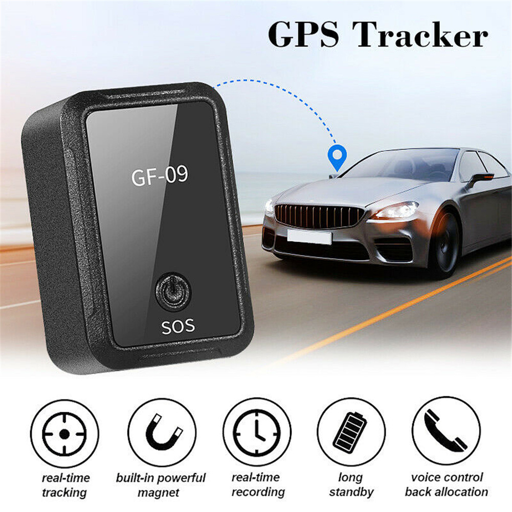 [Hot Item] New GF-09 Mini GPS Tracker APP Control Anti-Theft Device Locator  Magnetic Voice Recorder for Vehicle/Car/Person Location
