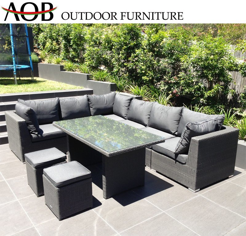 Rattan Wicker Sectional Sofa Sets