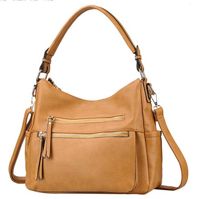 China Women Hobo Soft Leather Bag