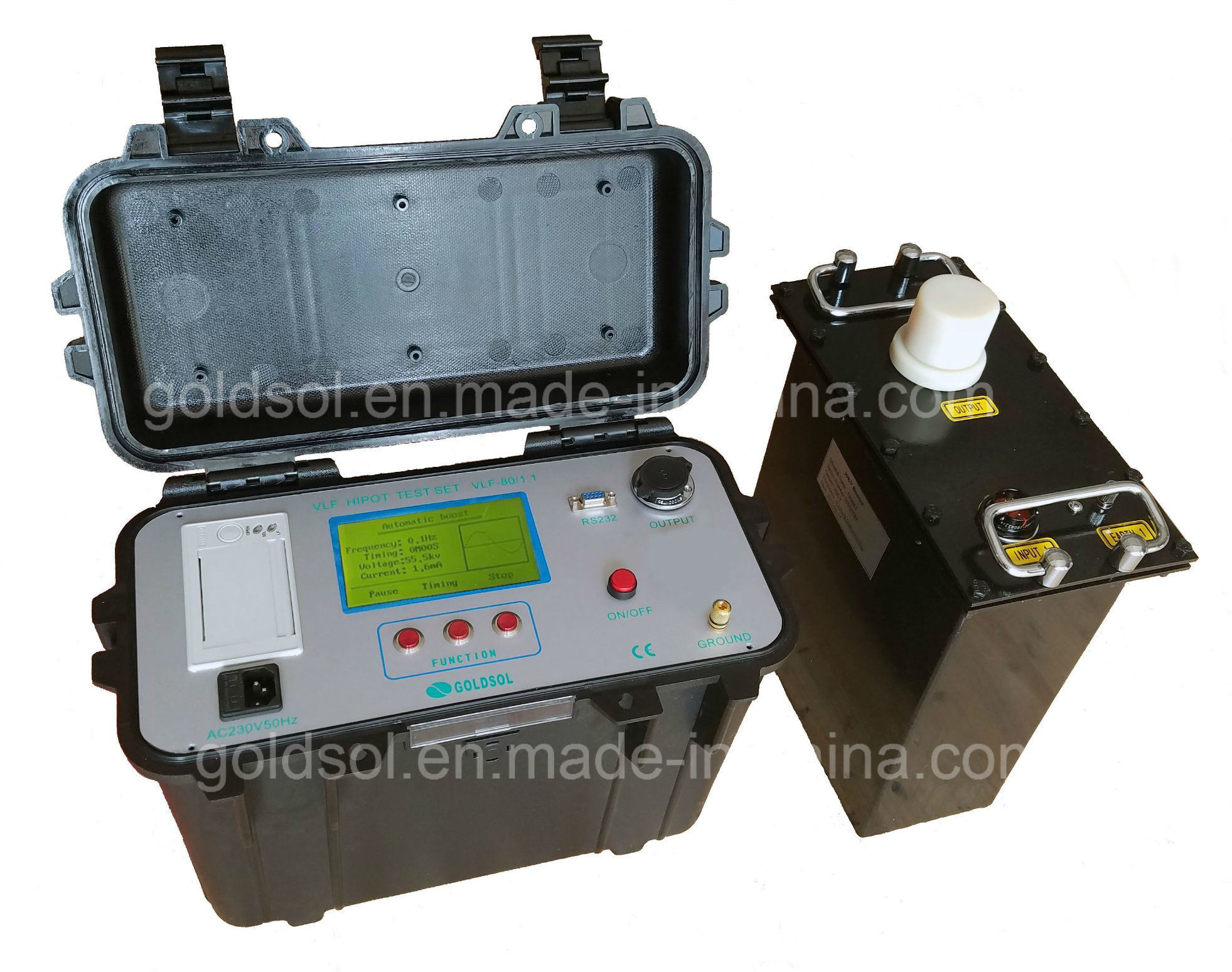 China 60kv Vlf Hipot Testing Equipment China Hipot Test