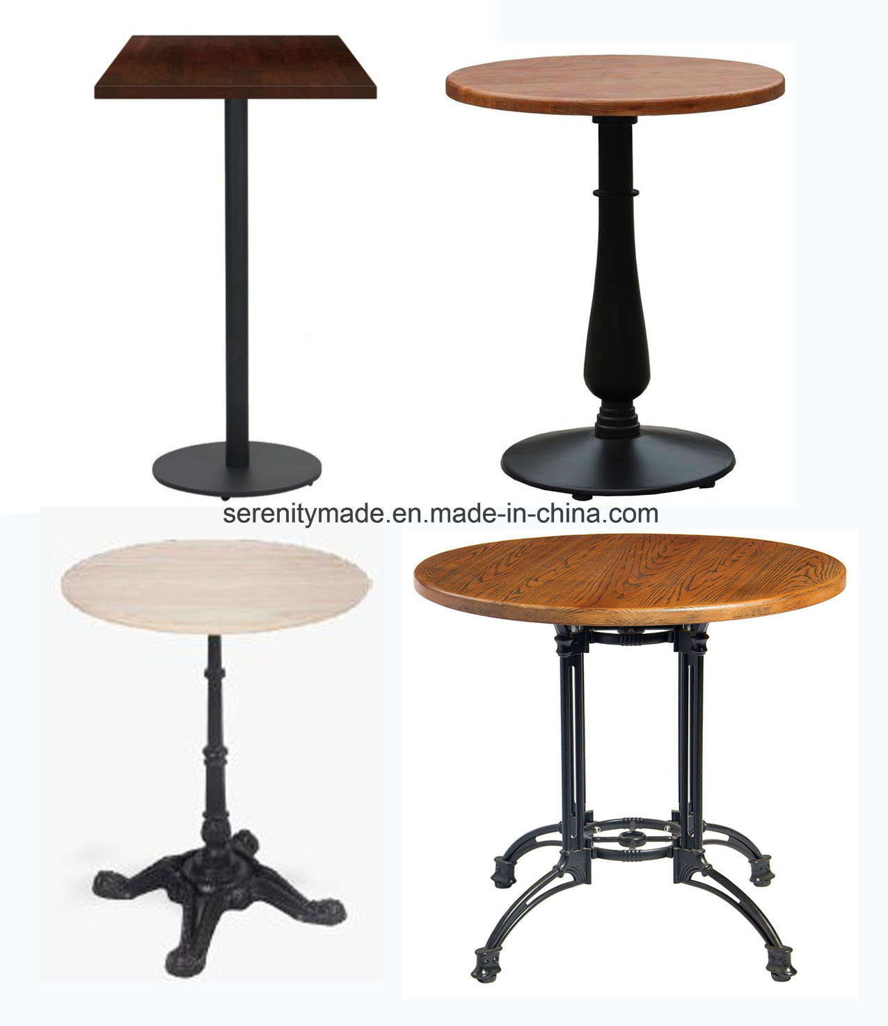 China wholesale modern commercial custom made wooden marble top coffee dining bar table china bar table wooden coffee table