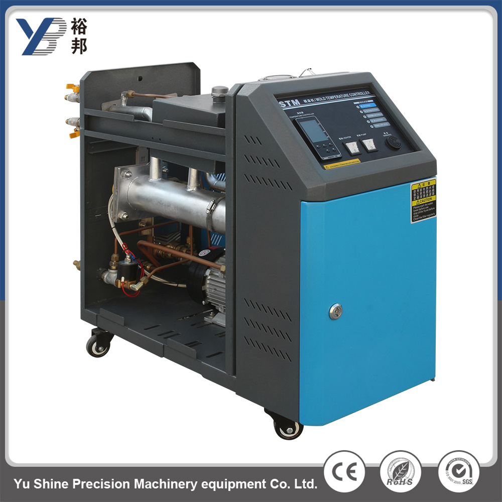 China 6kw 30L/Min Oil Pump Mold Temperature Machine Heat Exchanger ...