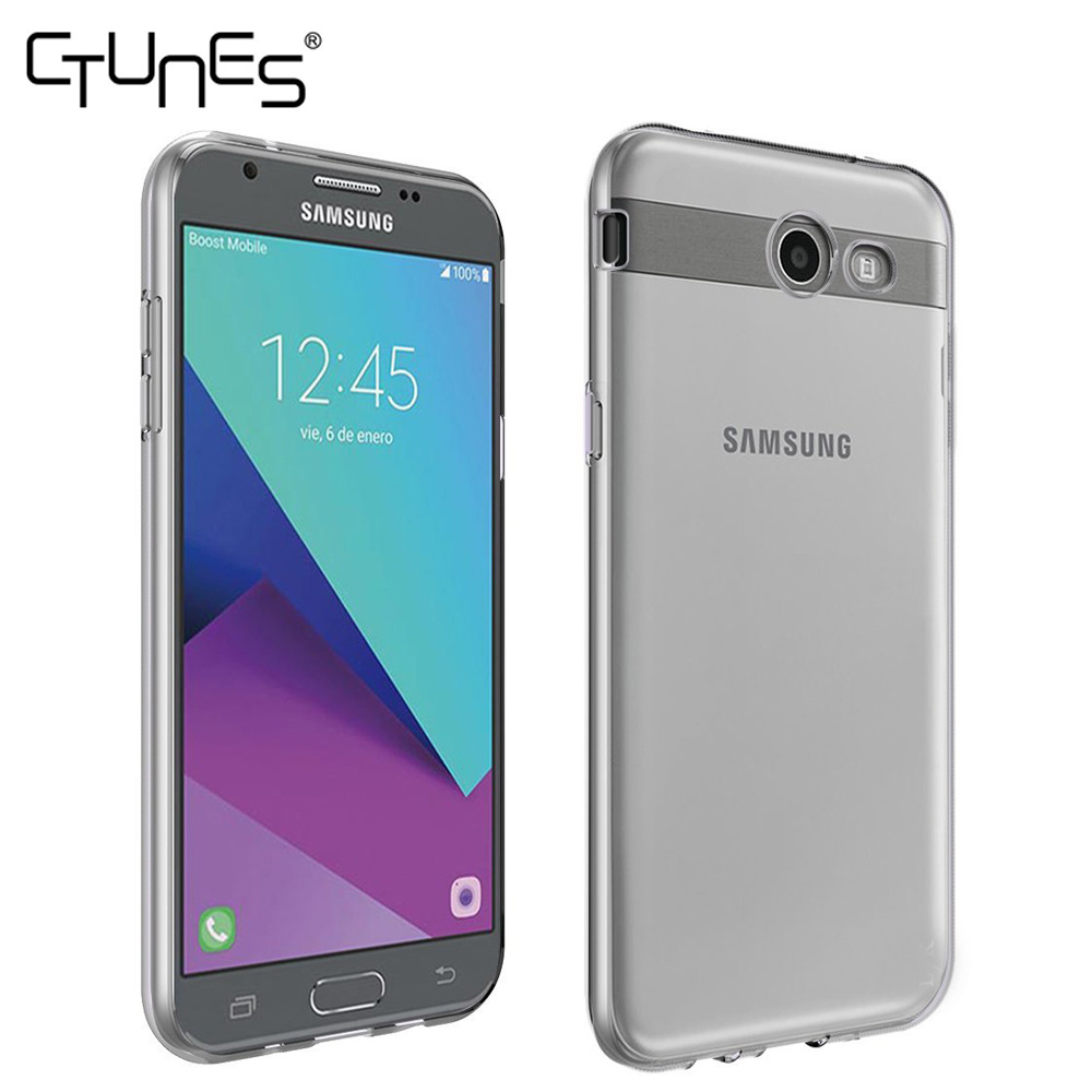 wholesale dealer 001fc 95394 [Hot Item] for Samsung Galaxy J7 Prime Case, Clear Slim Thin TPU Rubber  Soft Skin Protective Case Cover for Samsung Galaxy J7 Prime