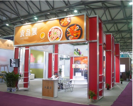 [Hot Item] Beautiful Exhibition Booth Design for Trade Fair