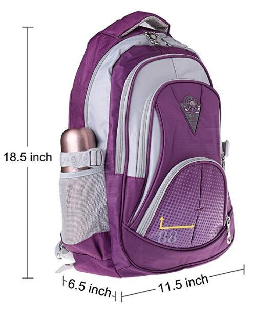 731d7dec600a China Polyester Outdoor School Backpacks for Girls in Middle School ...