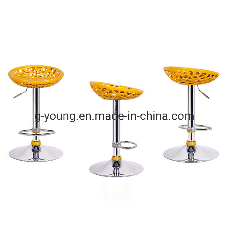 Abs Plastic Bar Stools With Footrest