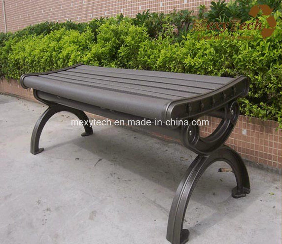 China Foshan Wood Plastic Composite Bench 1500x530x420mm Composide Eco