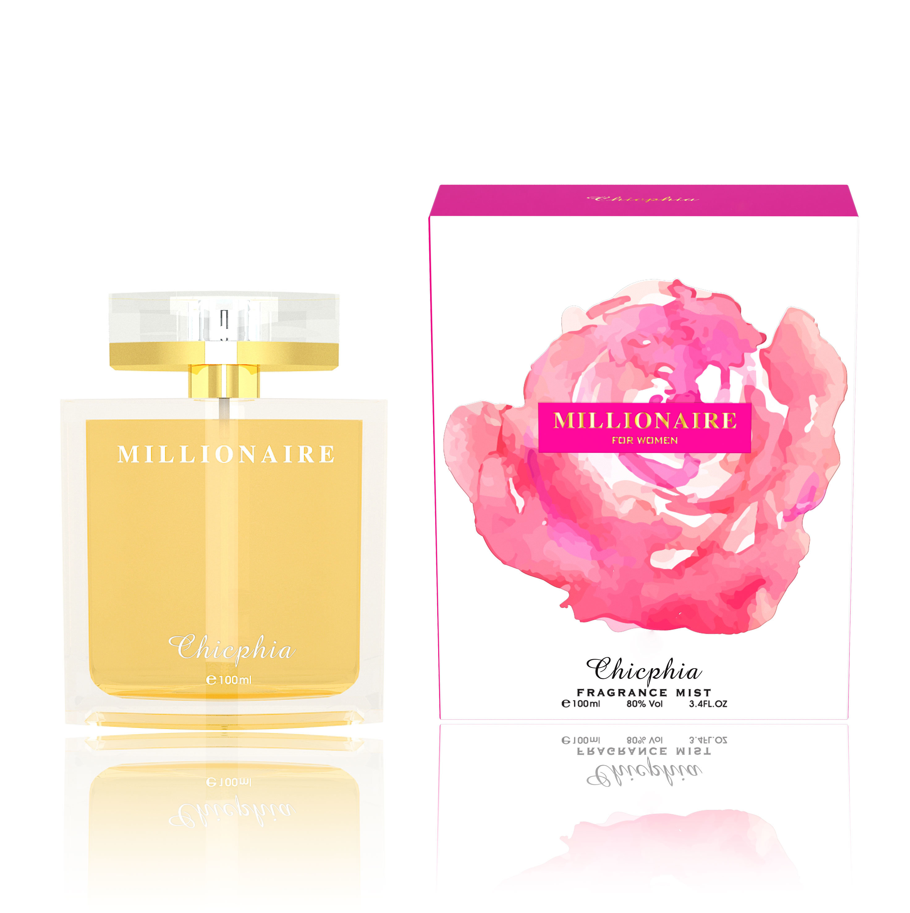 China Modern Mix Flower Fragrance Natural Perfume China Perfume