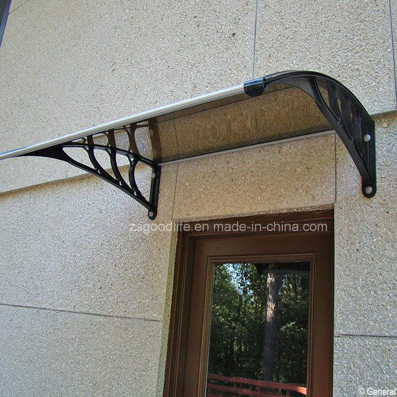 Hot Item High Quality Easy Embled Diy Polycarbonate Plastic Door Canopy