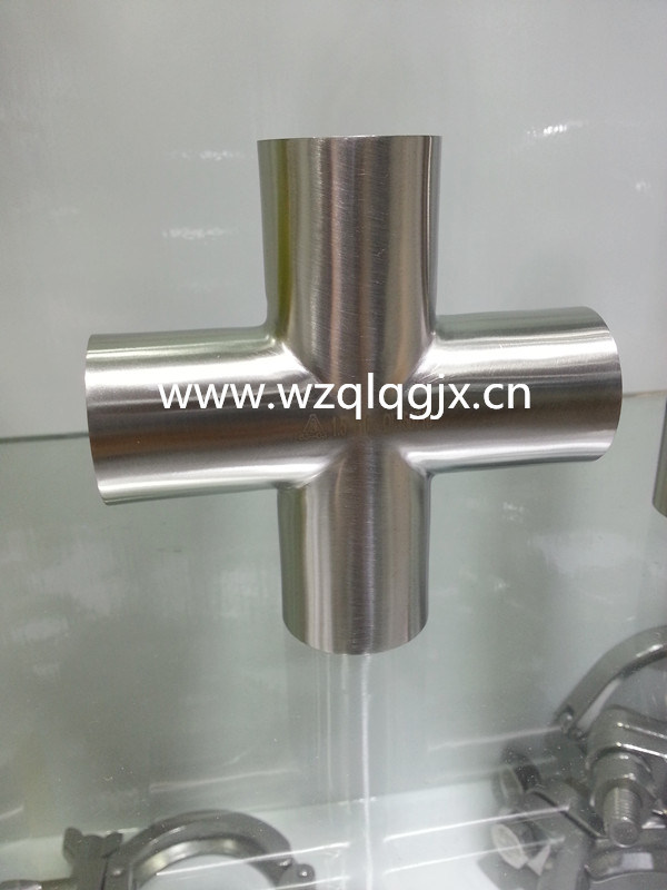 304/316L Food Grade Stainless Steel Sanitary Welded Cross pictures & photos