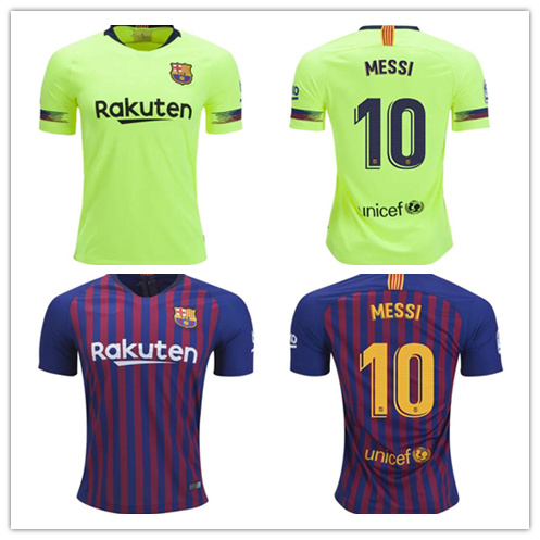 a1c46f2bdc8 China Barcelona Jerseys 10 Lionel Messi Soccer Jerseys Football ...