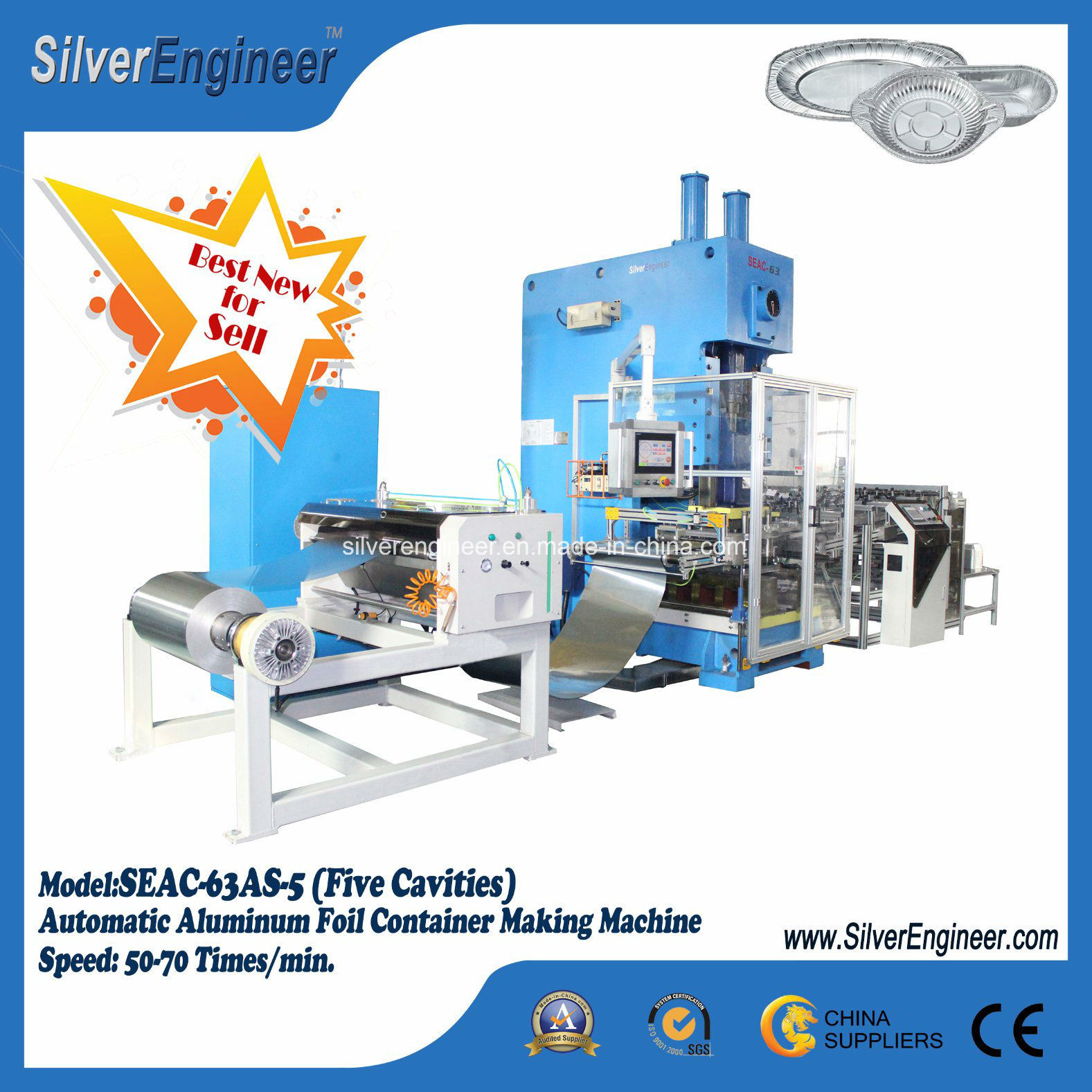 Aluminum Foil Container Machine Top Smart Line pictures & photos