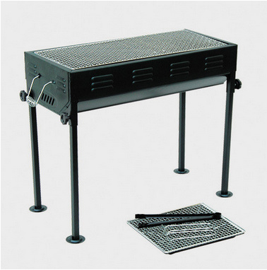 China New Design Height Adjustable Portable Charcoal Barbecue Grill ...