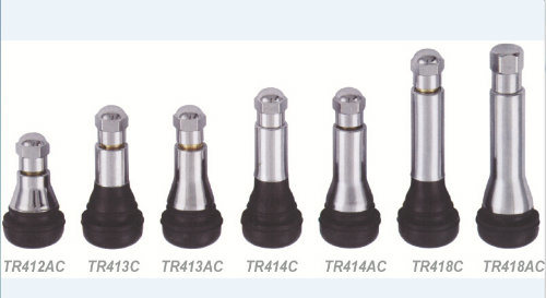 Tire Valves with Chrome Sleeve & Cap Tr413AC/Tr414c