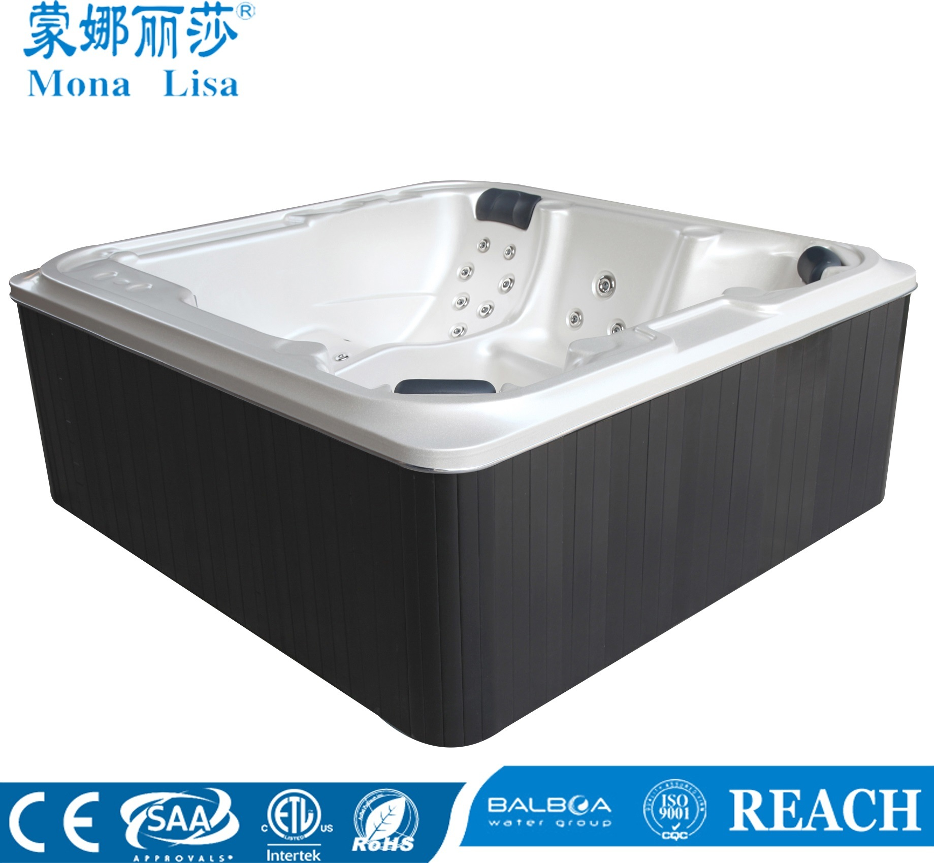 China Mini Garden Party Jacuzzi Ce Approved Hot Tub (M-3363) - China ...