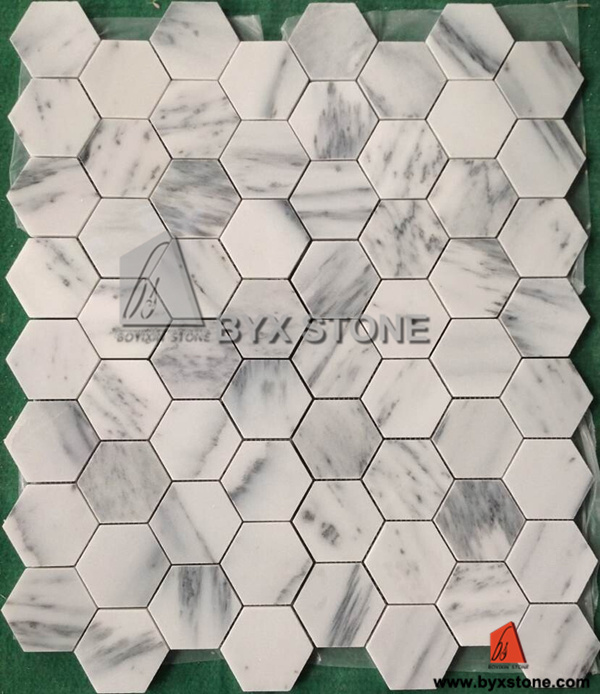 Marble Stone Mosaic for Wall / Water Medallion Floor Decoration pictures & photos