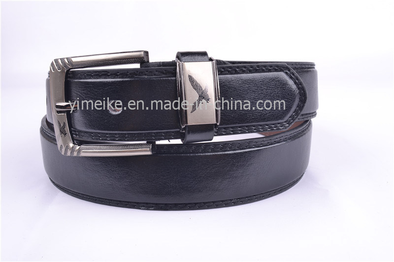2016 New Arrival Fashion Buckle Designer PU Leather Men Belt China Factory