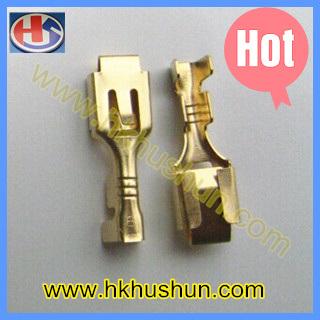 50 x 6.3 mm Female Brass Spade Crimp Connectors