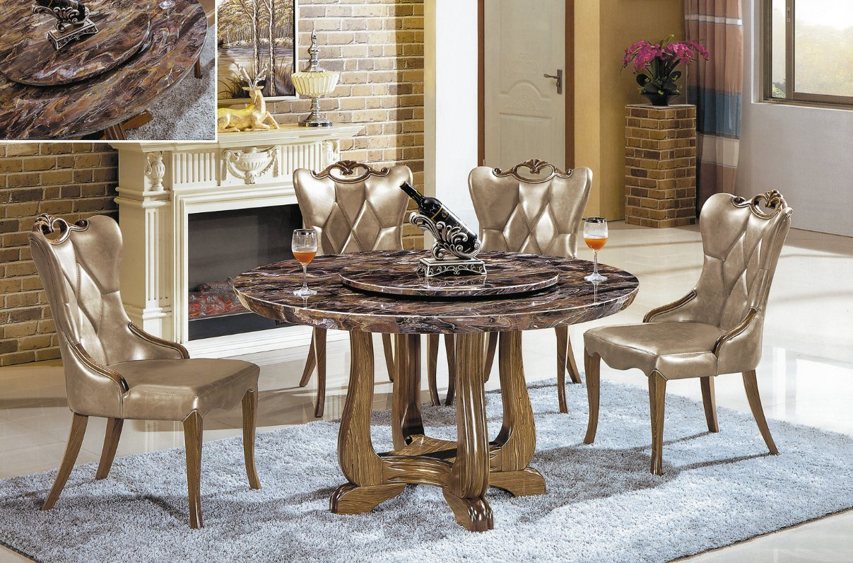China Modern Design Marble Table Top Dining Table Dining Chair China Dining Table Dining Chair