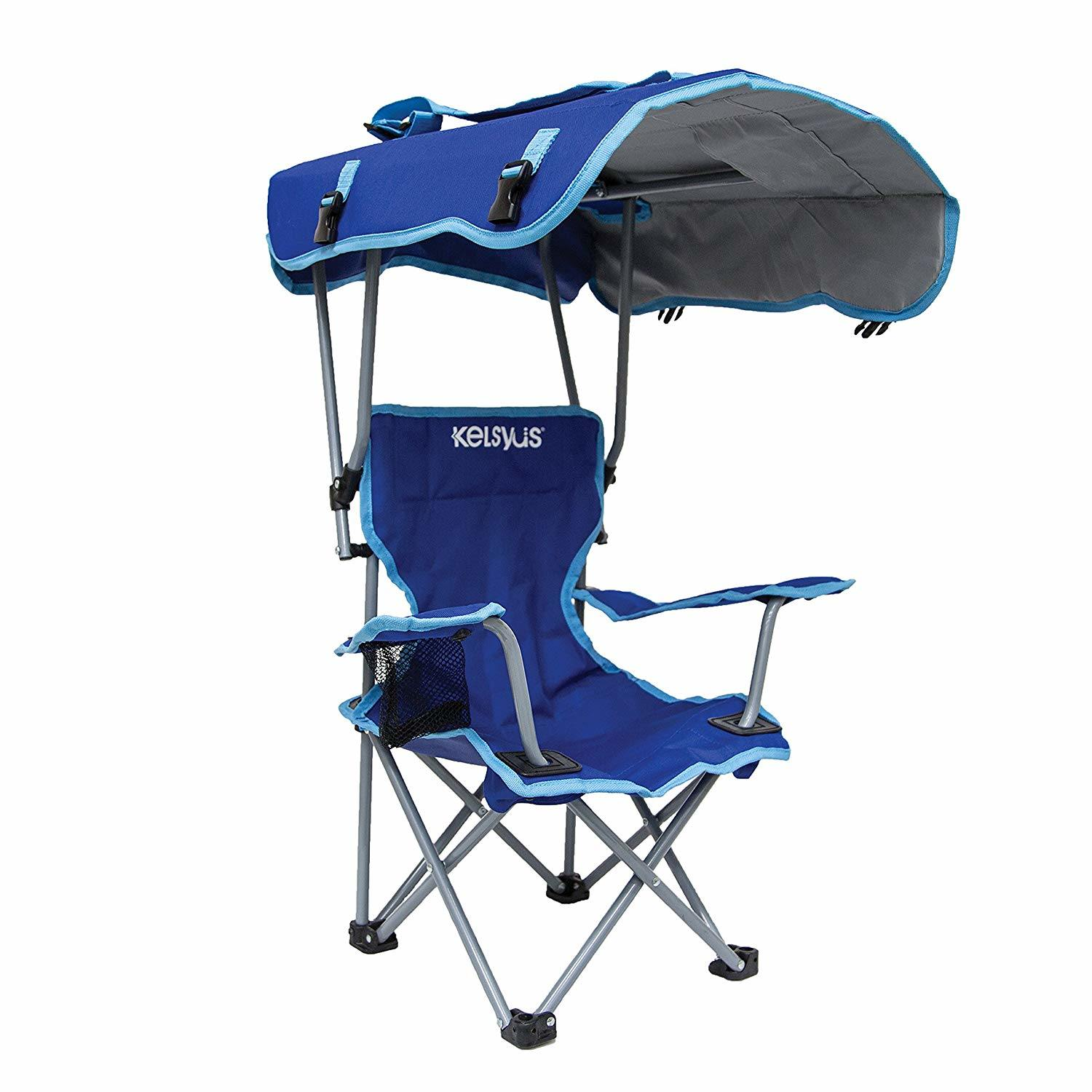 Brilliant Hot Item Kids Outdoor Canopy Chair With Umbrella For Camping Tailgates And Outdoor Events Evergreenethics Interior Chair Design Evergreenethicsorg