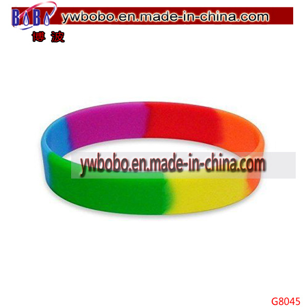 Business Gift Silicone Bracelet Silicone Wristband Rubber Promotional Products (G8045)