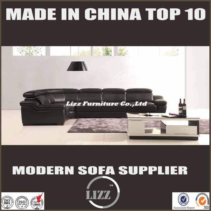 Modern Sofa L Shape Living Room Furniture (LZ-1332B)