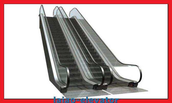 Escalator with Stainless Steel Steps