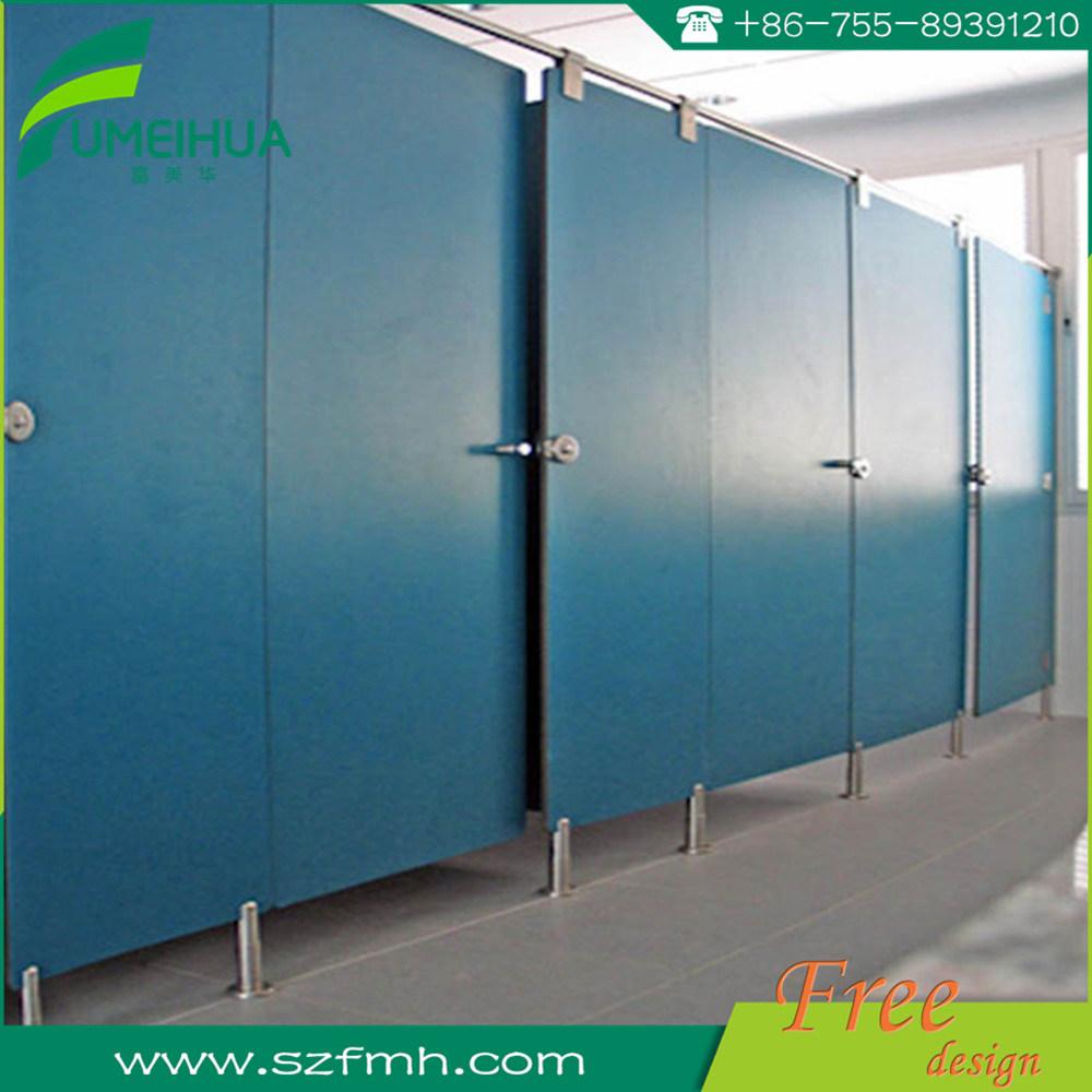 China Malysia Phenolic Resin Panel Public Toilet Cubicle Photos ...
