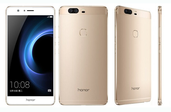 "2016 Original Unlocked Huawei Honor V8 5.7"" Android Octa Core 12MP 4G Lte Mobile Phones"