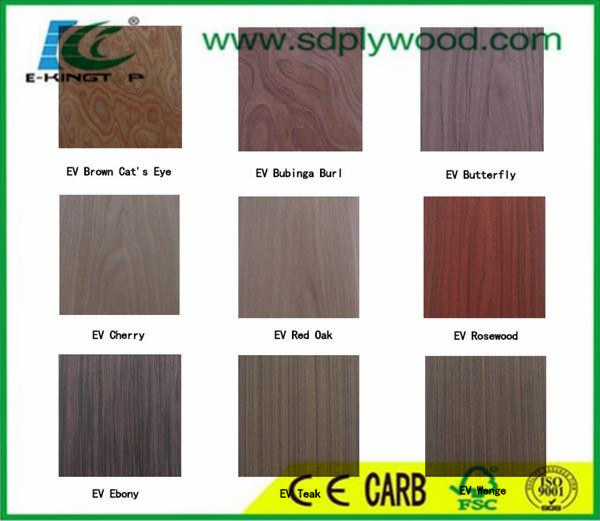 EV Engineered Wood Veneer From Linyi Factory pictures & photos