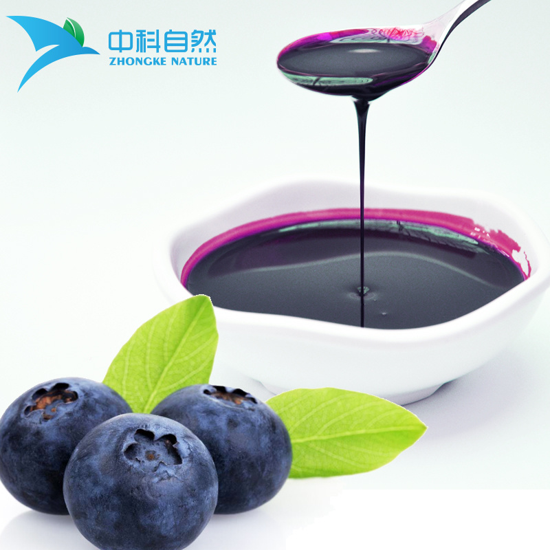 China Blueberry Juice Concentrate For Yummy Beverage Drinks